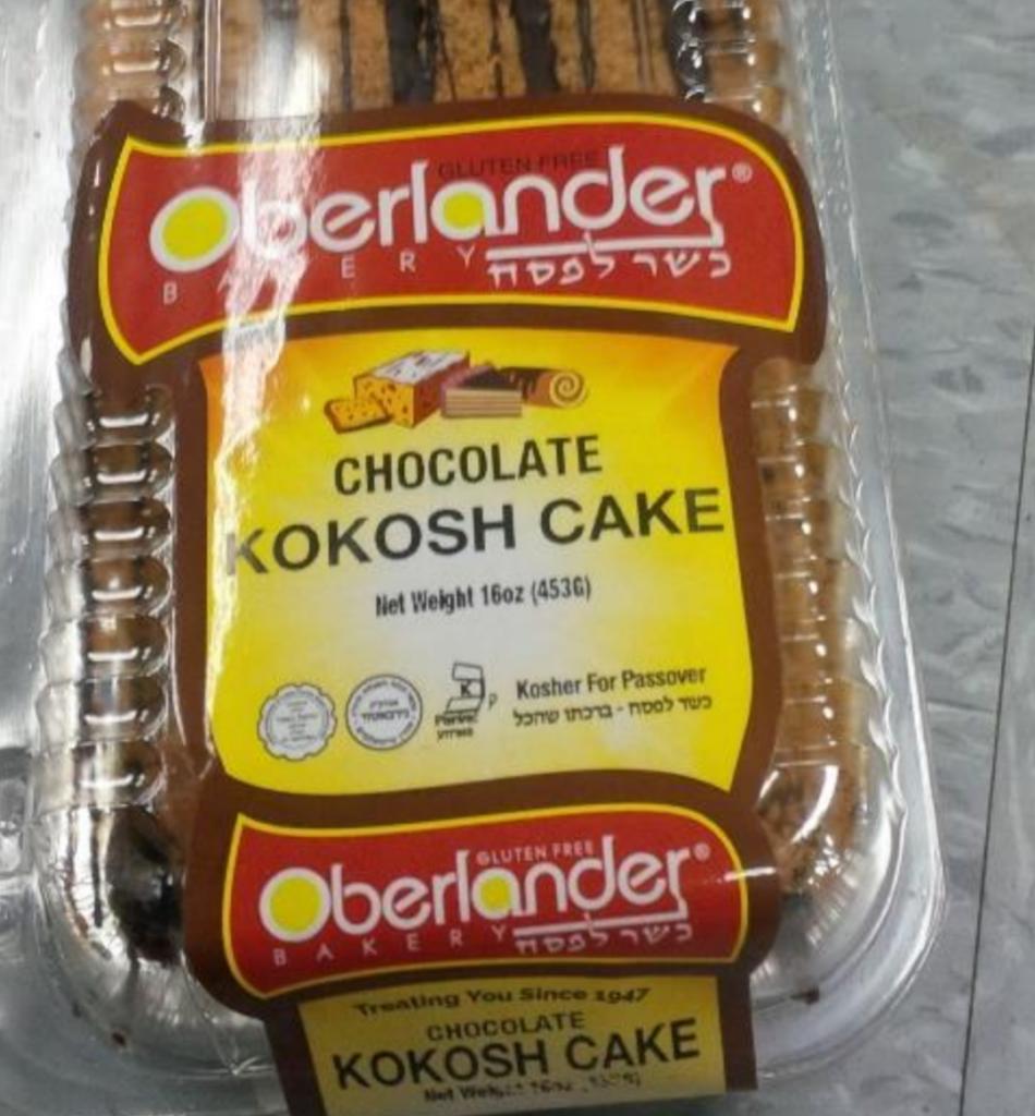 Alert Oberlander Bakery Recalls Kosher For Pesach