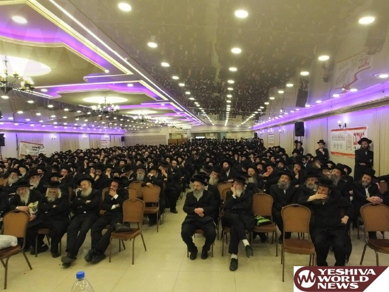 Photo Essay: Kinus About The Dangers Of Technology In Kehilas Perushim In Yerushalayim (Photos by JDN)