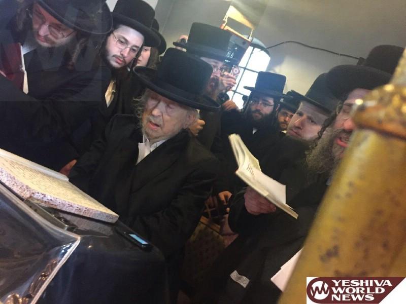 Photo Essay: Sanz Gribov Rebbe, Oldest Rebbe Of The Sanz Dynasty Visiting Sanz, Poland For Yartzeit Of Divrei Chaim (Photos by JDN)