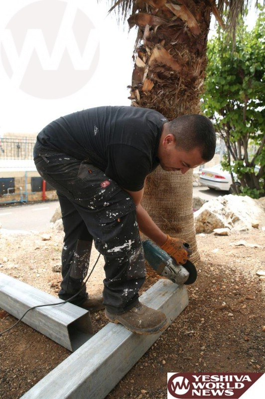 Photo Essay: Preparations Have Begun For Lag Baomer In Meron (Photos by JDN)