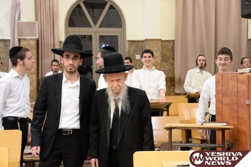 Photo Essay: Pesichas Hazman In Yeshivas Ponevez (Photos by JDN)