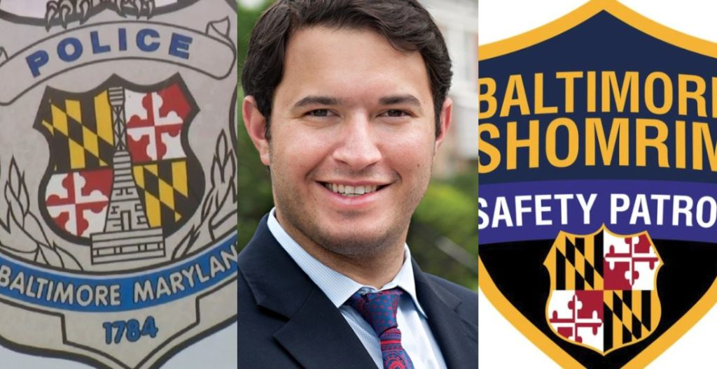 Frum Baltimore Councilman Schleifer Coordinates Joint Effort Between Shomrim And Police To Catch Carjacking Suspects
