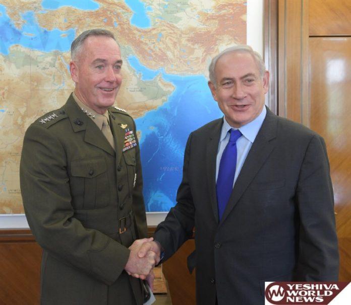 Netanyahu meets US army leader to enhance military ties