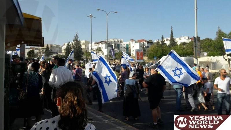 Beit Shemesh Women: VIDEO/PHOTOS: Beit Shemesh Residents Protest Following
