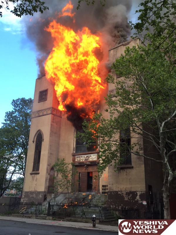 Historic Shul In Lower East Side Destroyed By Fire [VIDEO ...  Historic Shul I...