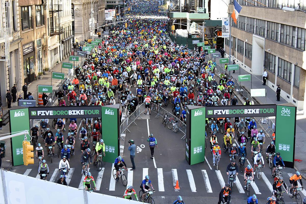 New York  Boro Bike Tour