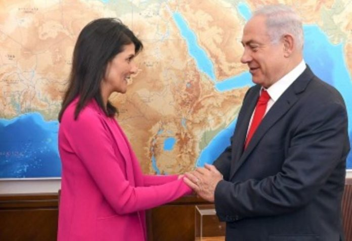Nikki Haley in Jerusalem: We Won't Let UN Bully Israel Any More