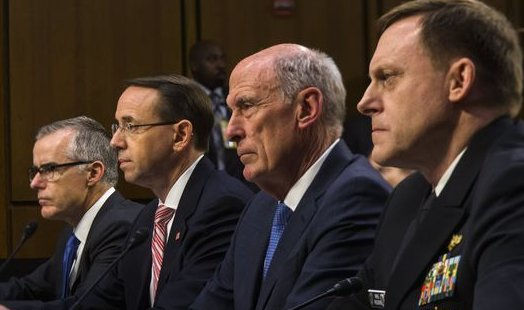 Senate Committee Hearing With Intelligence Chiefs