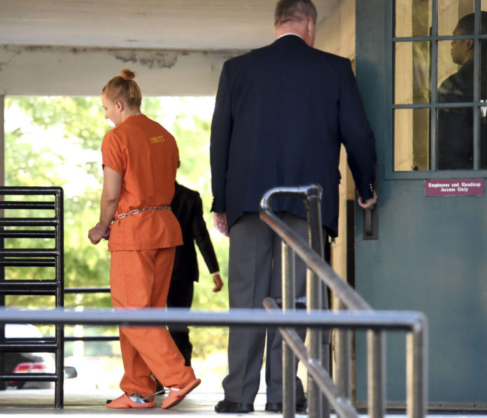 Accused leaker Reality Winner is scared after arrest, mom says
