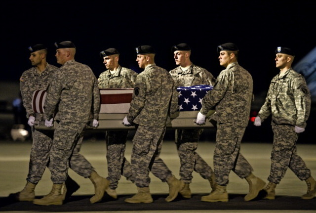 American soldiers killed in Afghanistan