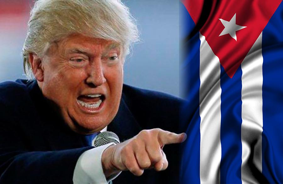Resultado de imagen para trump vs cuba