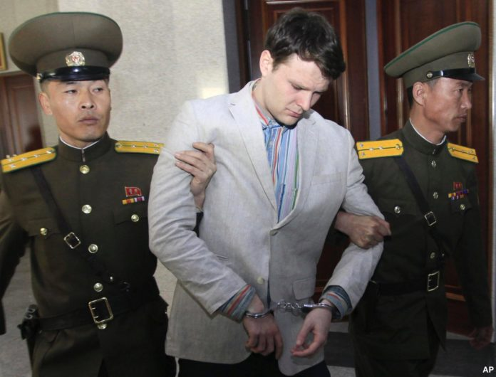 US student in coma after being freed by North Korea has died