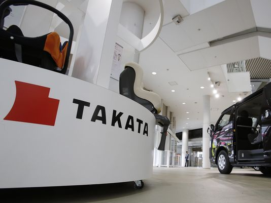 Japan's trade min: Takata bankruptcy filing was unavoidable
