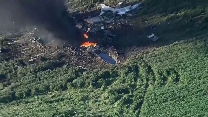 Marine special ops troops among 16 dead in plane crash