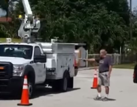 Man Upset With AT&T Trucks Outside Home Shoots Out Tires