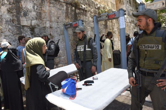 The Temple Mount, The Metal Detectors, And Halacha By R