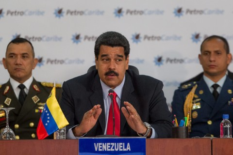 U.S.  sanctions Venezuelan officials to pressure Maduro
