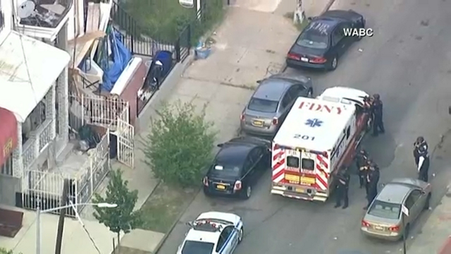 NYPD officer shot in arm in Brooklyn; suspect barricaded
