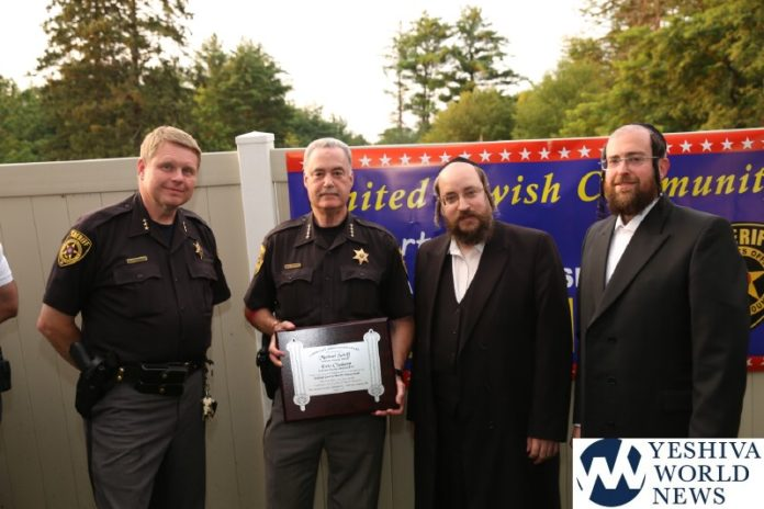 PHOTOS: Sullivan County Sheriff And Undersheriff Recognized For
