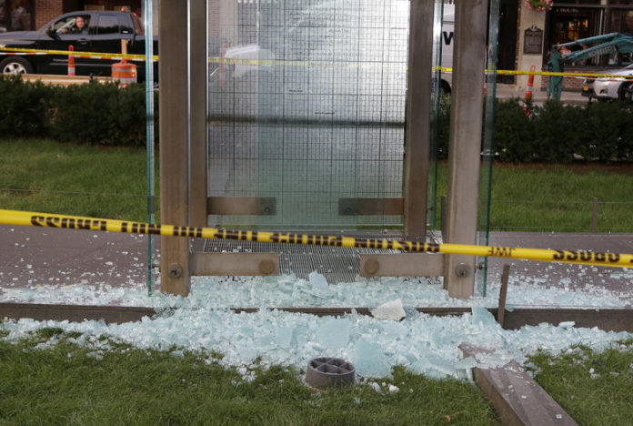 Boston Holocaust Memorial vandalized again, 1 arrested