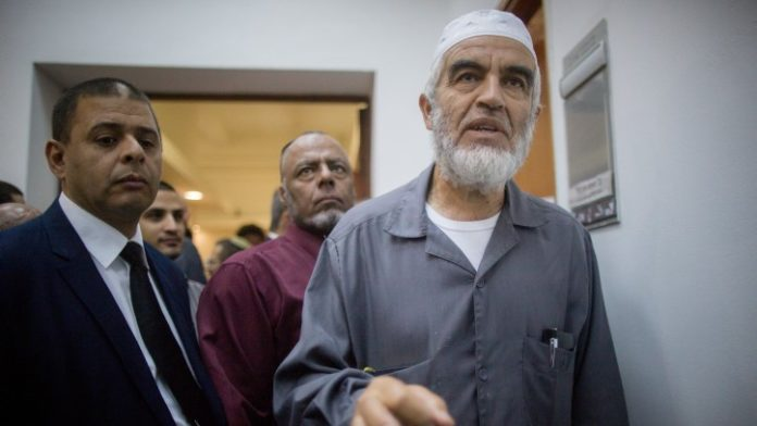 Israel arrests Islamic cleric Raed Salah for inciting violence