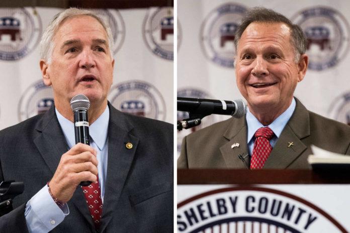 Strange, Moore headed for GOP Senate runoff