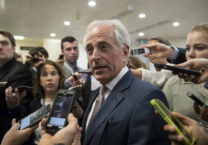 Senator Corker says Trump hasn't shown stability, competence