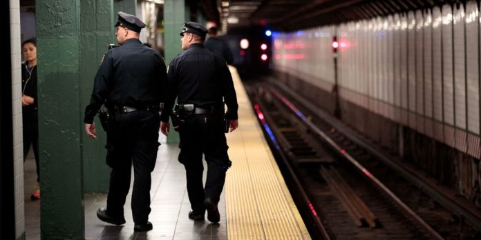 Search On For Suspect After Woman Pushed Onto Subway Tracks