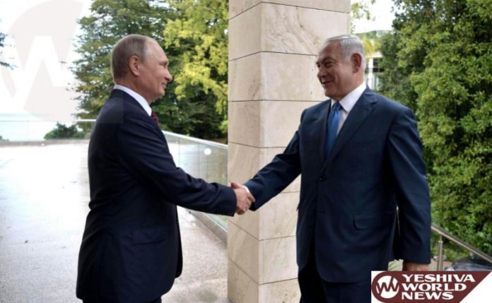 Netanyahu, Putin to meet over Syria conflict