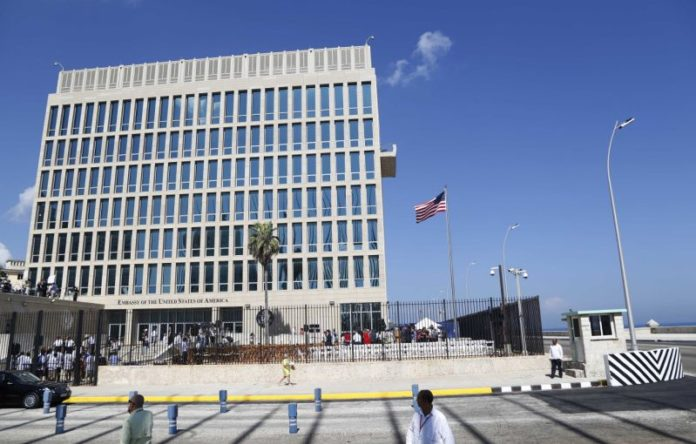 U.S. staff in Cuba hurt in 'acoustic attack': state dept
