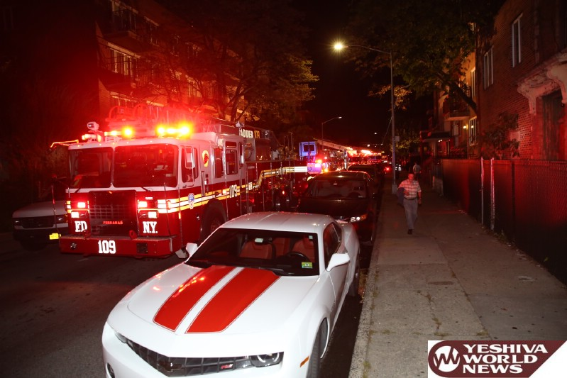 Parents dead, teen hospitalized after fast-moving fire rips through Brooklyn home