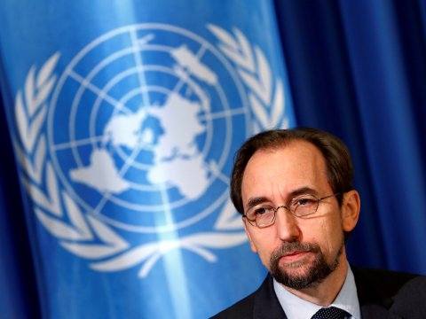United Nations rights chief decries Trump's 'demonization' of media
