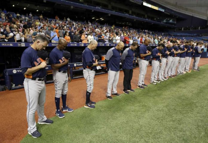 Series Between Rangers and Astros Moved to Florida Due to Hurricane Harvey