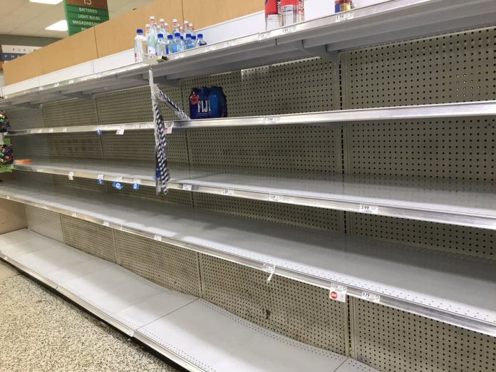 Watch Panic Empty Shelves In Major Florida Stores