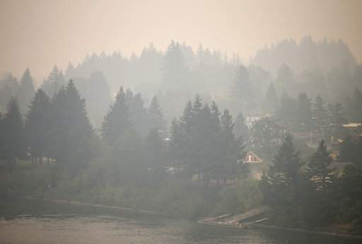 In Oregon, more than 800 square miles burned