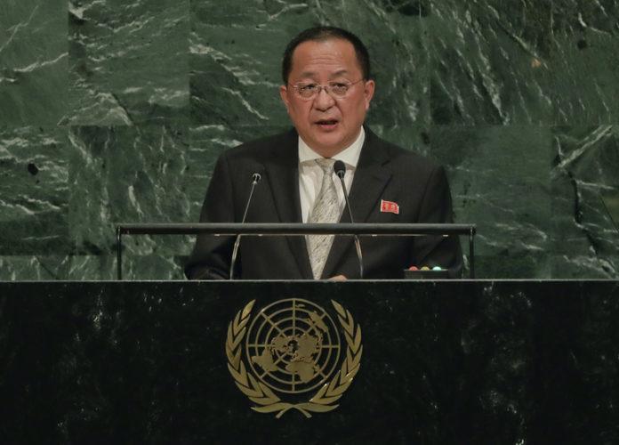 N. Korea says Trump's words were declaration of war