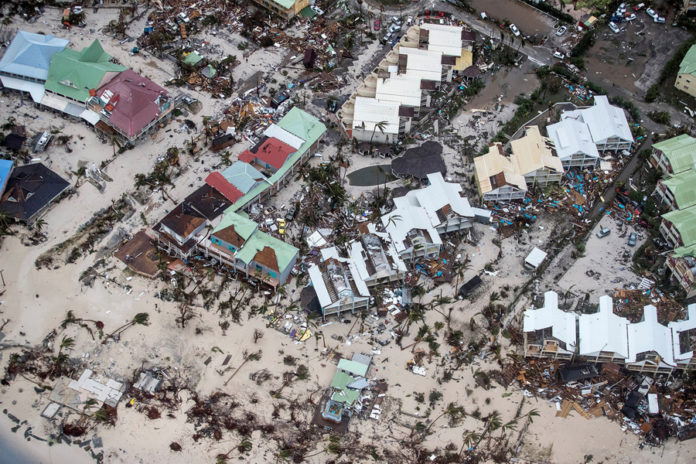Photos show island paradises are now disaster areas after Irma