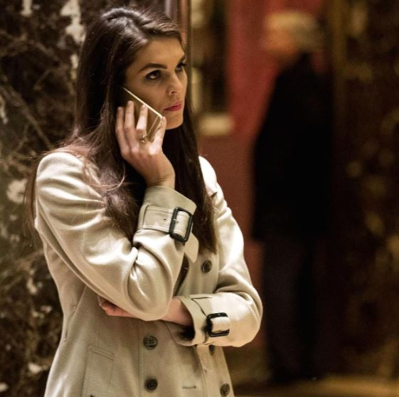 Hope Hicks Officially Becoming White House Communications Director