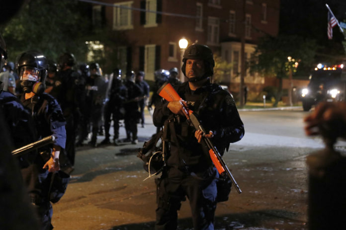 Louis Police: 10 law enforcement officers injured in protests