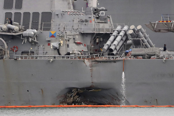 Navy relieves 2 more top officers following deadly ship collisions