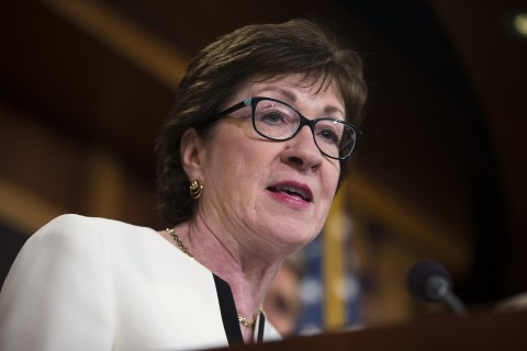 Collins 'Very Disappointed' In Trump's Decision To End O'Care Subsidies