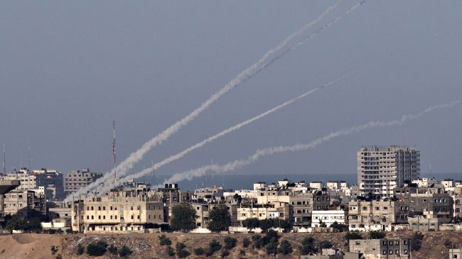 Rockets fired from Gaza intercepted by Iron Dome