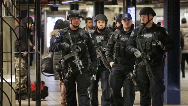 Police slap terror charges on NY subway bombing suspect