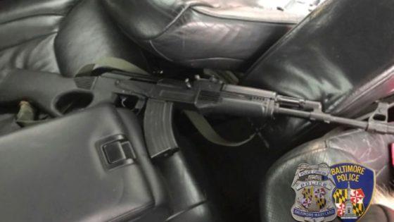 VIDEO: Gunman Fires Wildly During Car Chase Through Baltimore