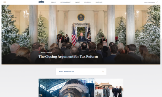 White House Website Gets Face-Lift