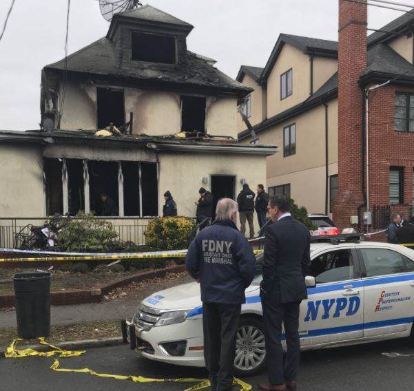 Mother, 3 of her children killed in NY house fire