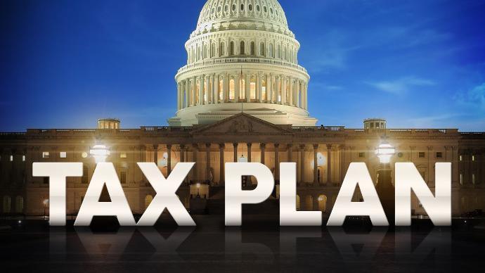 Huge Tax Bill Heads For Passage As GOP Senators Fall In Line