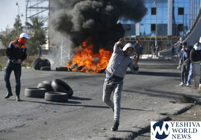 Israeli force attack a student demonstration in Bethlehem