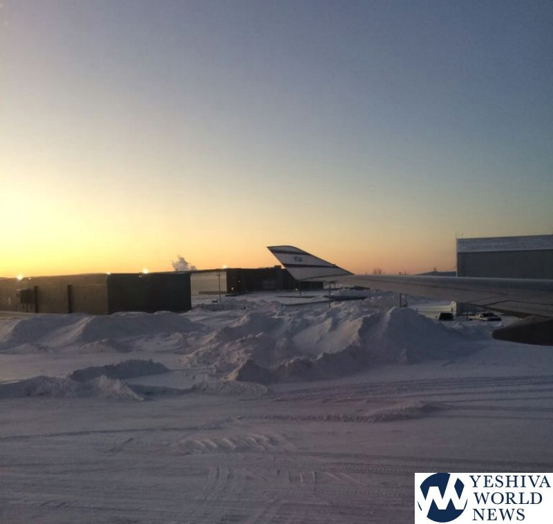 Bound passengers stranded for 13 hours at frozen Canadian air base
