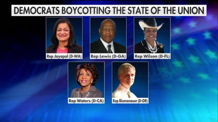 At Least 5 House Democrats Are Boycotting Trump's State of the Union